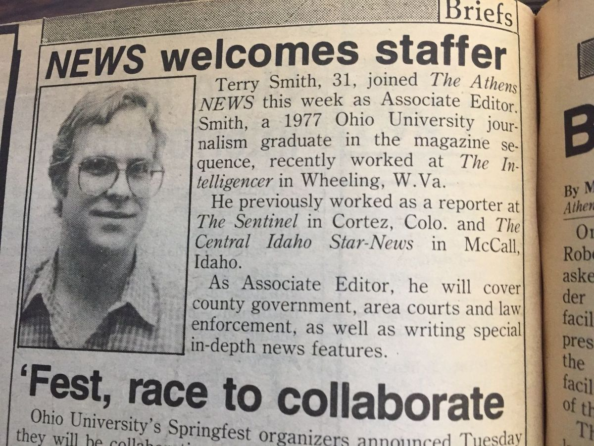30 Years at the ANews, Congrats Terry!